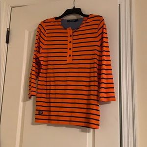 Polo Striped Top